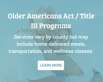 Older Americans Act/Title III